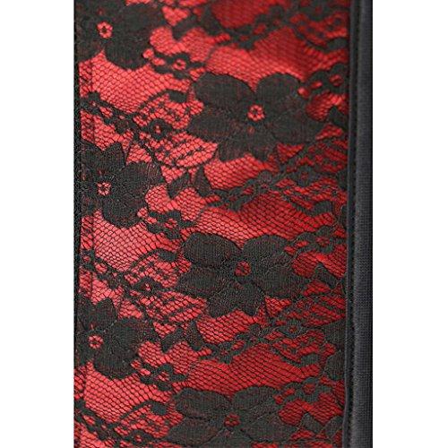 Corsetto Cincher Donne Red 6xlshapewear Trainer Hjxjxjx In Traspirante Disossato Acciaio A Xs Elastico Delle nXXz6FO