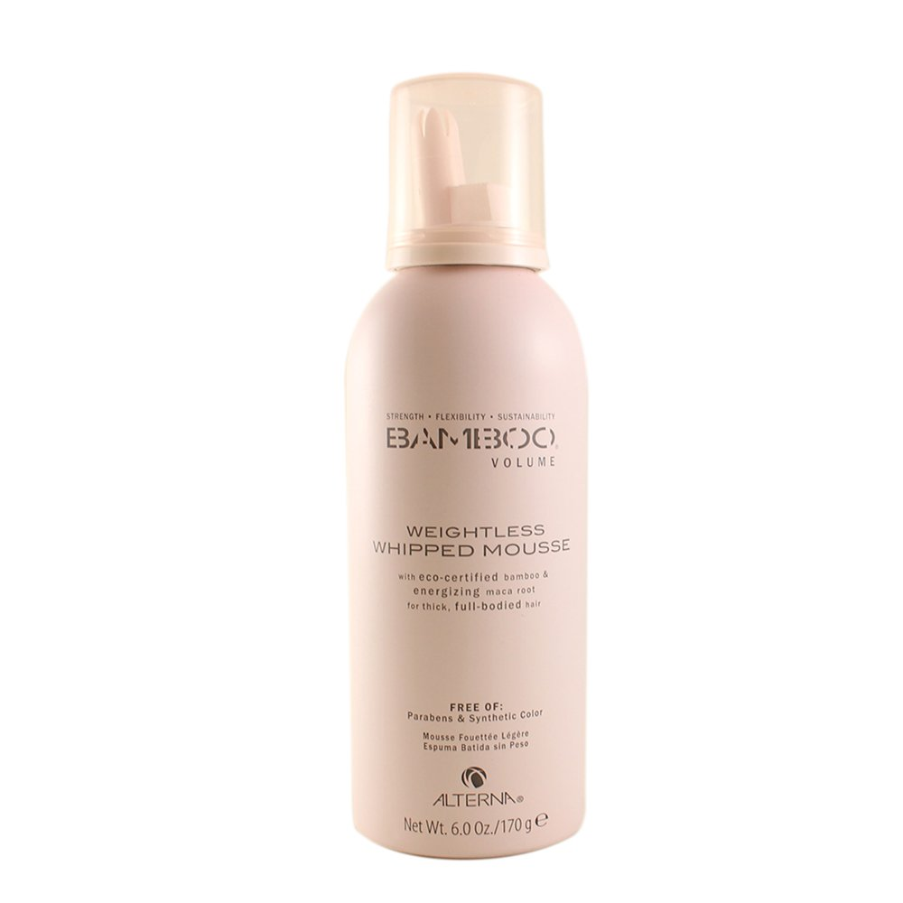 Alterna Bamboo Volume Weightless Whipped Mousse, 6-Ounce by Alterna