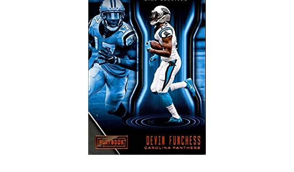 Amazon.com  2018 Playbook Football Orange Parallel  82 Devin Funchess  Carolina Panthers Official NFL Trading Card made by Panini  Collectibles    Fine Art cfe8f40f0