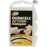 Duracell Hearing Aid Batteries Size 312 (40 Batteries)