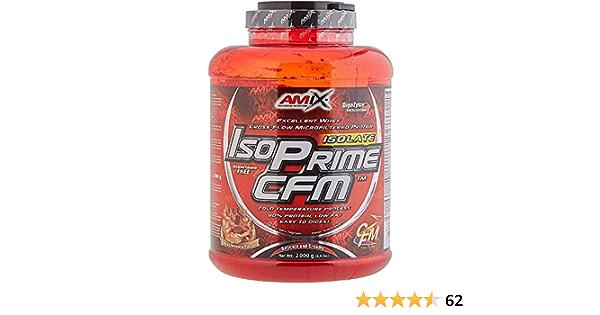 AMIX Isoprime Cfm Isolate 2 Kg Chocolate 2 2000 g: Amazon.es ...