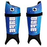 Byte ZT Sublimated Field Hockey SHINGUARDS Blue (Small)