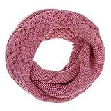 Fashion Soft Wool Thick Knitting Scarf Winter Warmer Infinity Shawl Wrap