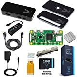 Vilros Raspberry Pi Zero W Complete Starter Kit-Premium Black Case Edition-Includes Pi Zero W and 7 Essential Accessories