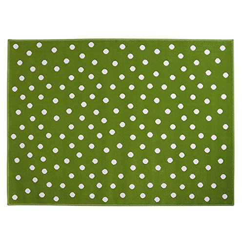 Lorena Canals Dots Acrylic Rug (Green) by Lorena Canals
