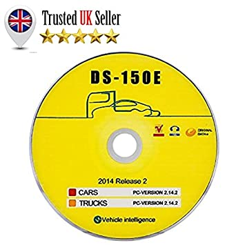 Interfaz de software de autodiagnóstico para coche, camión y furgoneta, disco CD DS-150E 2014 2.14.2 DS150E para Delphi, Autocom: Amazon.es: Coche y moto