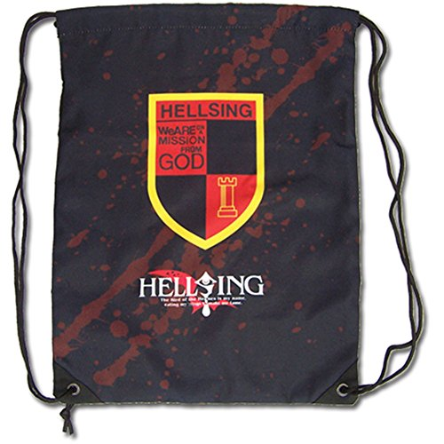 Cheap Hellsing Ultimate – Emblem Drawstring Bag