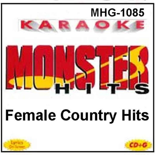 - Monster Hits Karaoke #1085 - Female Country Hits