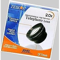 TelePhoto Lens for Sony DCR-HC85E, Sony HXR-MC50E, Sony HXR-MC1500, Sony HXR-MC1500P, Sony HXR-MC1500E