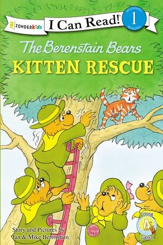 The Berenstain Bears Kitten Rescue (I Can Read! / Good Deed Scouts / Living Lights)