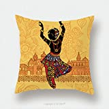 Custom Satin Pillowcase Protector Indian Woman On The Background Of Indian Architecture India 428025439 Pillow Case Covers Decorative