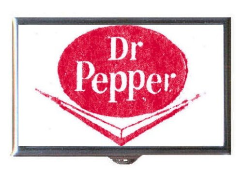 DR. PEPPER VINTAGE SOFT DRINK LOGO Guitar Pick or Pill Box USA MADE!!