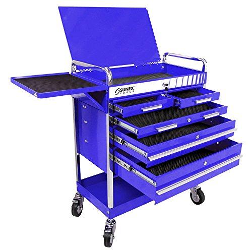 Sunex 8045BL Heavy 5 Drawer Service