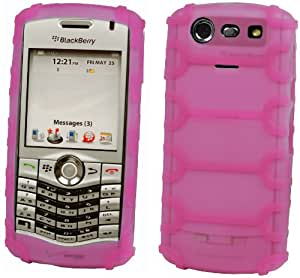 Cellet Jelly Case for BlackBerry Pearl 8130 (Hot Pink)