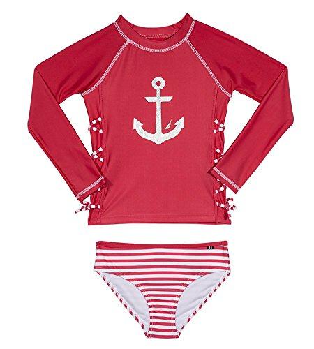 Nautica Girls Rashguard Swim Suit