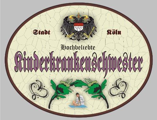 Cartel de madera infantil Enfermeras - cartel Colonia (XXL ...