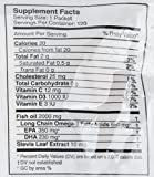 Image of Coromega Omega-3 Squeeze Packets with Vitamin D3, DHA and EPA, Tropical Orange, 120-Count (Packaging may vary)