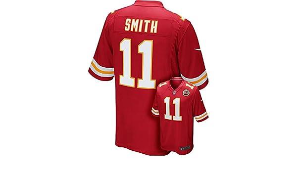 Nike Camiseta réplica de la Camiseta de la NFL Kansas City Chiefs Alex  Smith Juego 2c5ad27a040