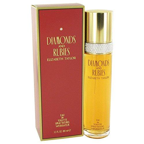 Diamonds & Rubies For Women Vanilla Eau De Toilette - DIAMONDS & RUBIES by Elizabeth Taylor Eau De Toilette Spray 3.4 oz