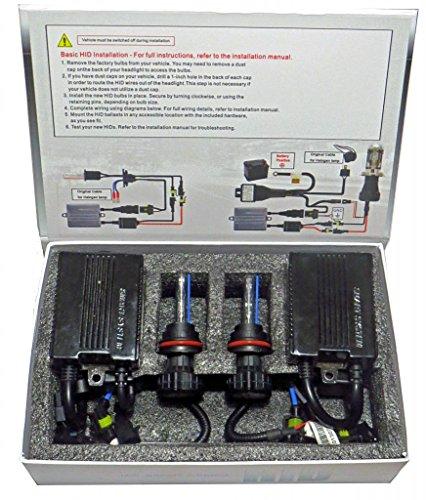 55 Watt CAN-BUS HID Conversion Kit (H1 Single Beam, 8000k Light Blue)