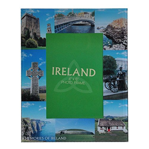 Glass Photo Frame Designed With Famous Landmark Images Of - Glasses Frames Ireland