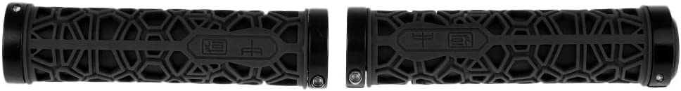 perfeclan Rouge End Plug Guidon Poign/ées Double Verrou sur V/élos Confortable TRR Surface en Caoutchouc Pi/èces pour V/élos Enfants Et V/élos De Montagne