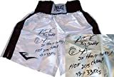 Riddick Bowe Autographed Boxing Shorts (JSA) - Free Shipping