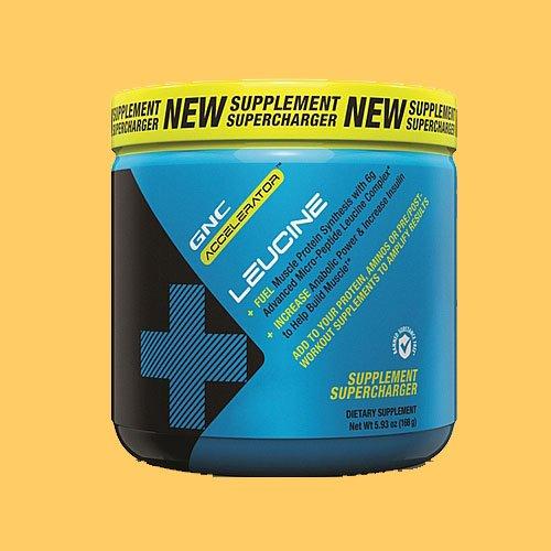 GNC accélérateur Leucine 199,2 g - Punch aux fruits