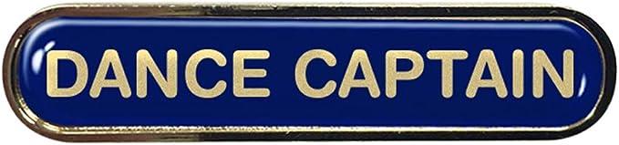 Dance Captain Gel Domed School Bar Badge