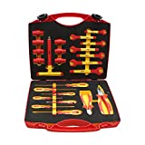 Aven 15603 Insulated SAFETY Tool Kit, 24 Piece
