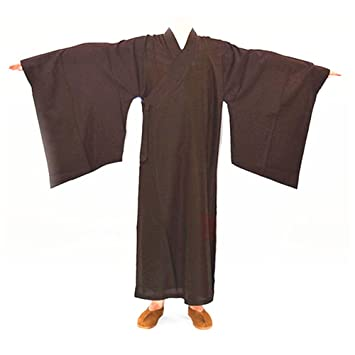 DOREKIN Budista meditación Monje Shaolin Kung Fu Robe Traje ...