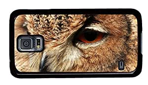 Hipster Samsung Galaxy S5 Case on sale covers owl head PC Black for Samsung S5