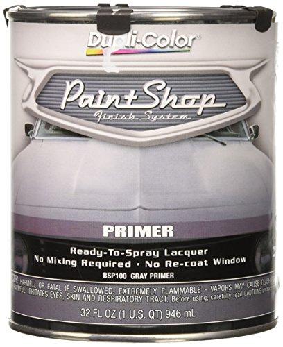 Dupli-Color BSP100 Gray Paint Shop Finish System Primer - 32 oz.