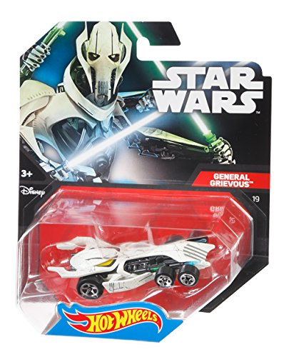 Hot Wheels Star Wars Character Car, General Grievous