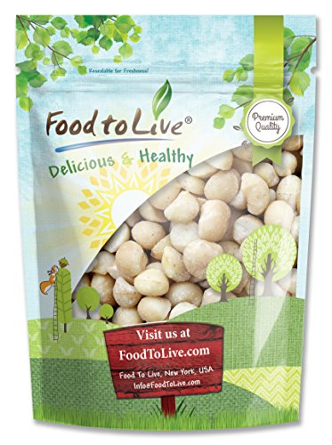 Food to Live Macadamia Nuts (Raw) (8 - Raw Macadamia