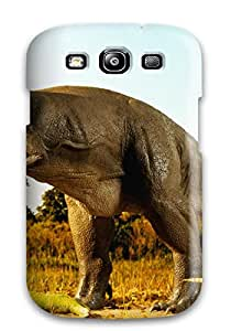 Tpu Case Cover For Galaxy S3 Strong Protect Case - Dinosaur Design