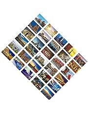 30 PCS Artistic Retro Postcards, Beautiful World Travel Scenery- Paris