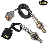 Lznlink 2 Pcs/ Set Front & Rear Oxygen O2 Sensor For 02 03 Mazda Protege5 2.0L Pre-Cat/Post-cat