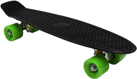 "Bentley 22/"" Kids Retro Cruiser Mini Plastic Skateboards 11 Colours Available"