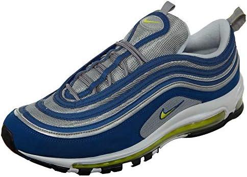 345545ffe7 Nike Men's Air Max 97, Atlantic Blue/Voltage Yellow, 13 M US: Buy ...