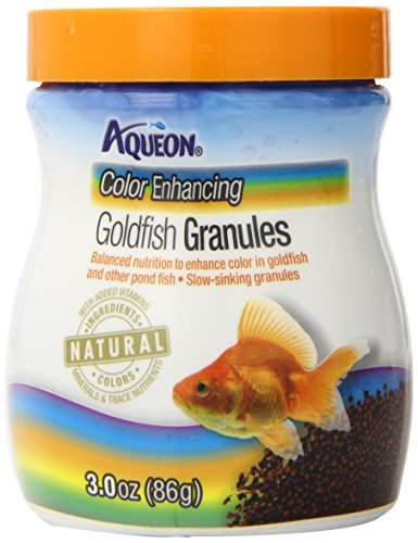 Aqueon Goldfish Food Color Enhancing Granules, - Granules Food