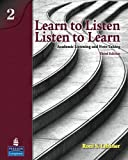 By Roni S. Lebauer - Learn to Listen, Listen to Learn 2: Academic Listening and Note-Taking: 3rd (third) Edition