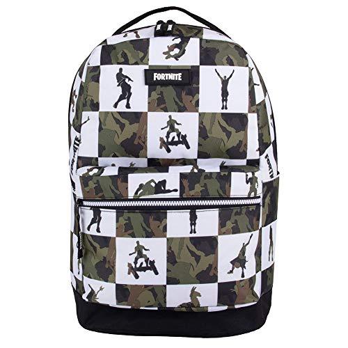 (FORTNITE Kids' Big Multiplier Backpack, black/Green, One Size)