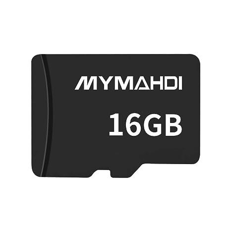 mymahdi 16 GB 16 G Micro SDHC Clase 4 TF Tarjeta de Memoria con Lector de Tarjeta Micro SD – Bulk Paquete