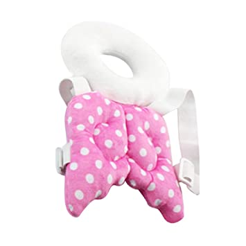 jiacheng29 cabeza respaldo protección cojín para bebé ...