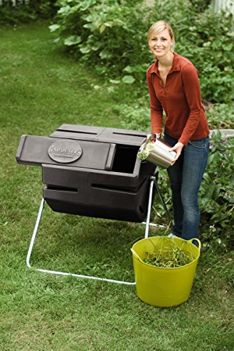 Recycled Plastic Compost Tumbler by Gardener's Supply Company (Image #1)