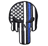 Thin Blue Line Punisher Patch