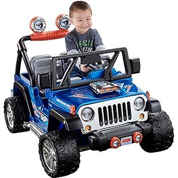 Power Wheels Hot Wheels, Jeep Wrangler, 12 Volt