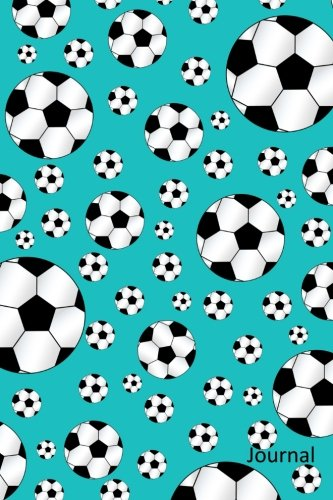 Journal: Turquoise soccer notebook