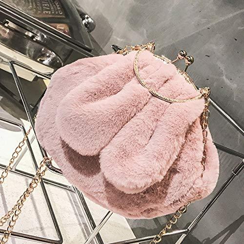 Blanco De Diseño Conejo Caqui Para Mujer Mano Bolso Saoga 8PW5nCqz